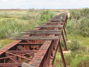 Old Ghan Railway Bridge