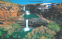 Mitchell Falls Kimberley flight Spirit Safaris Outback Tours Australia