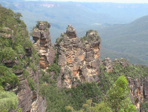3 Sisters Blue Mountains Australia tour