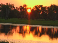 Sunset at Yellow Waters Kakadu