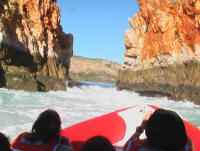 Horizontal Waterfalls Kimberley Spirit Safaris Tour