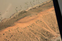 Big Red Simpson Desert from the air at Birdsville Corner Country Tours