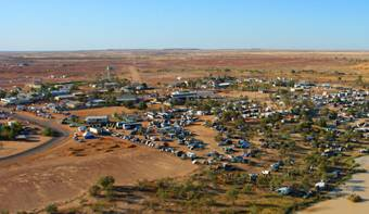 Birdsville Races Tours Flights 2017 - Birdsville town