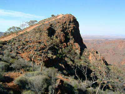 Sillers Lookout Arkaroola Village Corner Country tour