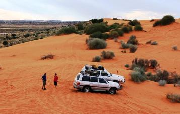 OUTBACK 4WD TOUR VEHICLES SIMPSON DESERT