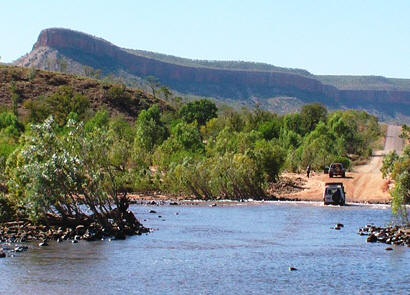 Cockburn Range at Pentecost River - Kimberley