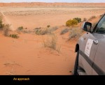 Big Red Approach Simpson Desert Tours
