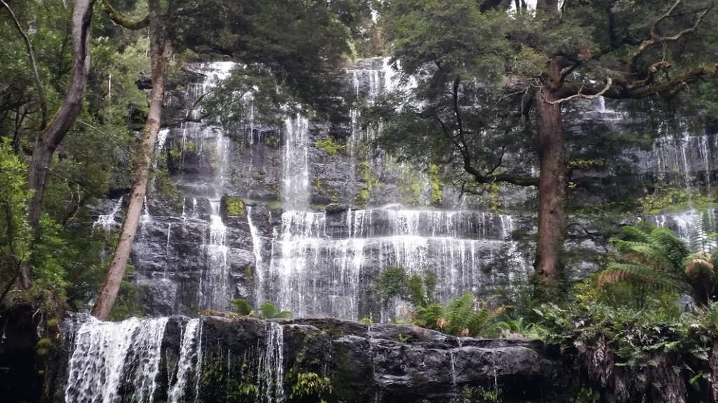 Tasmanian Wilderness Explorer 4WD Tours Russell Falls