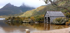 Tasmania Wilderness Explorer Tours 2020 Boatshed cradle mountain