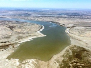 flood water enters lake eyre with tours and flights March 18, 2019